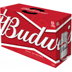 Budweiser - 15 Cans