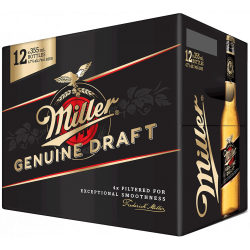 Miller Genuine Draft -12 Cans