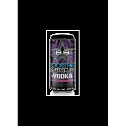 Rockstar + Vodka Blue...