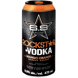 Rockstar + Vodka Mango Orange