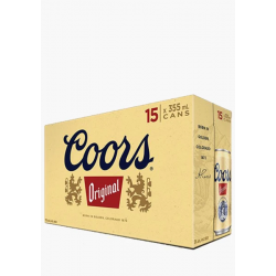 Coors Banquet - 15 Cans