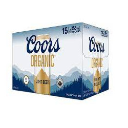 Coors Organic - 15 Cans